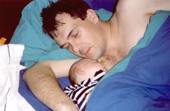 Nicolas et Florian notre troisieme enfant